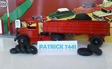 Lot de 7 pneus Dinky toys Bedford