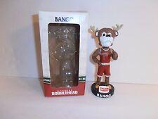 Milwaukee Bucks Mascot Bango Official Bobblehead Red Jersey Klements Box