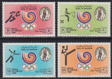 Bahrain 1988 ** Mi.380/83 Olympische Spiele Olympic Games