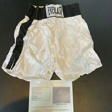 Muhammad Ali Signed Authentic Everlast Boxing Shorts With JSA COA