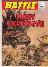 BATTLE PICTURE LIBRARY - No 229   HIGH EXPLOSIVE