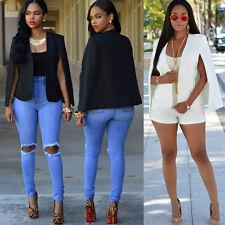 New Fashion Women Long Sleeve Casual Blazer Suit Jacket Coat Outwear Tops