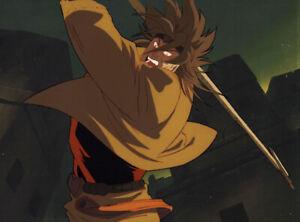 Jojo's Bizarre Adventure Anime Cel Douga BG Animation Art Dio vs Jotaro OVA 1993