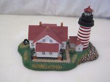 Danbury Mint Quoddy Head Lighthouse Historic American Lighthouse B7415