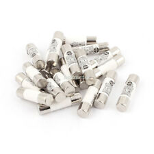 H● 20 Pieces RO15 ( RT18 RT14 ) Ceramic Cylindrical Tube Fuse 6 Amp 380V