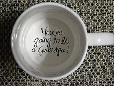 You're Going to be a Grandpa Coffee Mug, Pregnancy Announcement, pregnancy revea