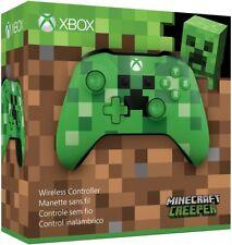 Genuine Microsoft Xbox One Wireless Controller Green Minecraft Creeper WL3-00056