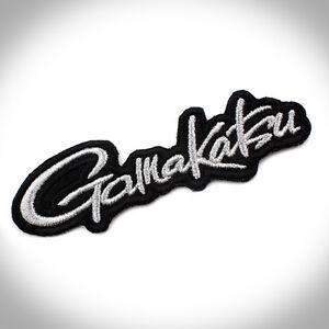 New Gamakatsu Fishing Logo Clothes Cap Patch Emblem Badge 12cm #J1