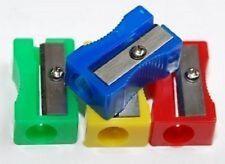 Cantidad 5 plástico Sacapuntas 4 Surtido Varios Colores Y Entrega Gratis