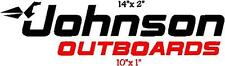 Johnson Outboard Decals