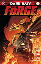 SDCC 2017 DC Universe Exclusive Dark Days The Forge #1 Foil Variant