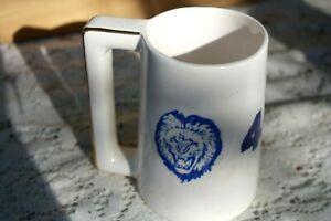 Vintage rare Detroit Lions Stein, Mug, hand made original # 48 Lion's Logo's