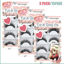 Wholesale 15 Pair Clear Band Nature False Eyelashes DEMI WISPIES Fake Eye Lashes