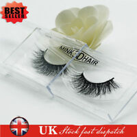 3D Mink False Eyelashes, Layered Wispy (Miami)*Party Lashes-Long Fabulous