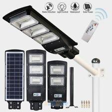 9990000LM Commercial LED Solar Street Light Motion Sensor Spotlight+Remote+Pole