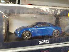 Miniature 1/18 norev  alpine a 110 2018 bleu