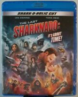 The Last Sharknado: It's About Time! Blu-ray (The Asylum) Ian Ziering Tara Reid