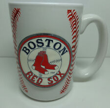 Boston Red Sox I Live For This MLB Mug Coffee Cup Raised Textured