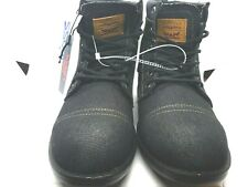 Levi's Denim Boots Men's Casual Comfort Boots 51837501A Black  10.5