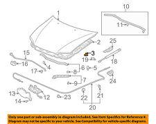 HONDA OEM Hood-Insulator Insulation Pad Liner Clip 91501S1K003