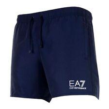 EA7 Emporio Armani Mens Sea World Swim Shorts - Navy Blue