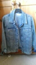 Ladies denim jacket size 10 New Look