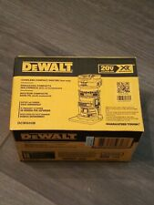 DeWalt DCW600B 20v Depth Adjusting Cordless/Brushless Router NEW! FREE SHIPPING!