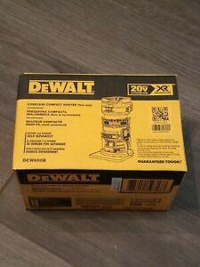 DeWalt DCW600B 20v Depth Adjusting Cordless/Brushless Router NEW! FREE SHIPPING!