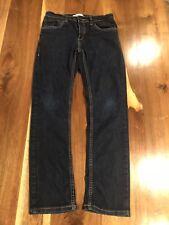 Boys Levi's Performance 511 Slim Pants Sz 16reg 28Wx28L dark wash Jeans skinny
