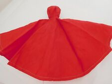 """Vintage Red Brocade Strapless Gown for 12""""-14"""" Fashion Doll"""