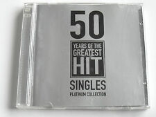 50 Years Of Hit Singles Platinum Coll. - Various (2 x CD Album) Used Very Good