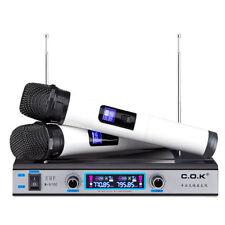 Pro UHF Wireless W970 Microphone System w Dual Wireless Mic for SHURE