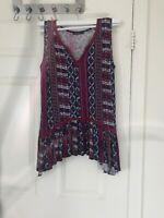 Max Jeans Woman Tribal pattern Dress Size S