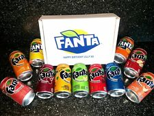 FANTA CHRISTMAS GIFT BOX SELECTION PICK 6 VARIOUS FLAVOURS PERSONALISED SODA POP