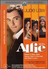 ALFIE (Jude LAW Sienna MILLER Susan SARANDON) Romantic Comedy Film DVD NEW Reg 4