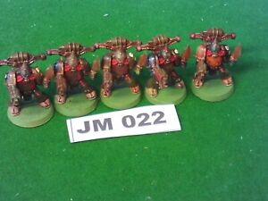 OOP Warhammer 40K Plastic Chaos Nurgle Space Marines x 5 Ref JM022