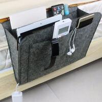 Bedside Pocket Caddy Hanging Storage Organizer Bed Desk Holder Rack Sofa Mount