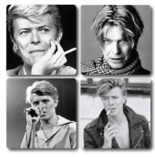 David Bowie Inspired Coasters - Set of 4 - High quality, Ideal gift