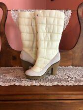 Women's Ivory Colin Stuart Winter Boots Size 9.5