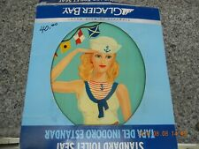 Hand Painted Toilet Seat Sailor Girl
