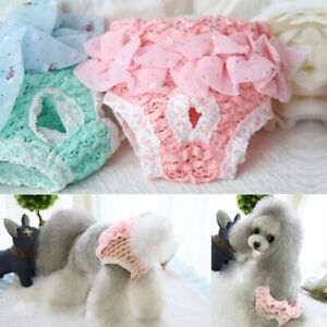 Pet Dog Physiological Pants Diaper Underwear Panties for Female Dog Washable