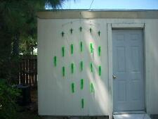 """36"""" Splash 14 9""""   Green Full Body Squid Spreader Bar  Tuna, Mahi, Billfish"""