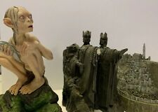 Lord Of The Rings Sideshow Dvd Statues All Three