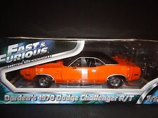Greenlight Dodge Challenger art 1970 orange 12947 FAST AND FURIOUS 1/18