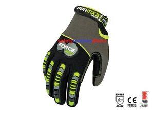 Force360 MX3 Armour Mechanics Gloves GFPRMX3