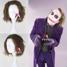 Movie The Dark Knight Joker Men's Short Anime Cosplay Wig Halloween Hair Wig NEW