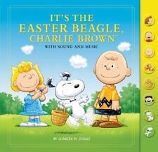 Cyber SALE It's the Easter Beagle, Charlie Brown: with Music Children's Book