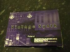 Roland JV80-04 Vintage Synth Expansion Board VGC  Boxed JV1080/2080