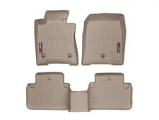 WeatherTech Floor Mats FloorLiner for Acura TL FWD - 2009-2014 - Full Set - Tan
