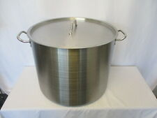 NEW 60 QT Quart Polished Stainless Steel Stock Pot Brewing Kettle Large w/ Lid